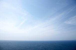 太平洋の水平線の写真素材 [FYI01823499]
