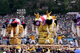 新居浜太鼓祭りの写真素材 [FYI01823586]
