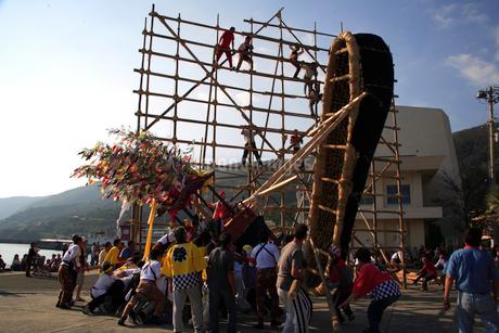 三崎秋祭りの写真素材 [FYI01823889]