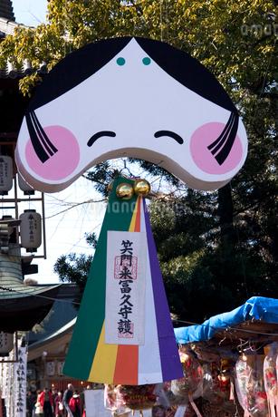 椿祭りの写真素材 [FYI01823900]