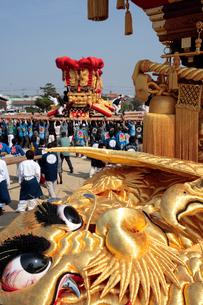 大野原八幡神社秋季例大祭の写真素材 [FYI01824315]