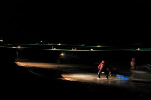 仁淀川のシラスウナギ漁の写真素材 [FYI01824504]