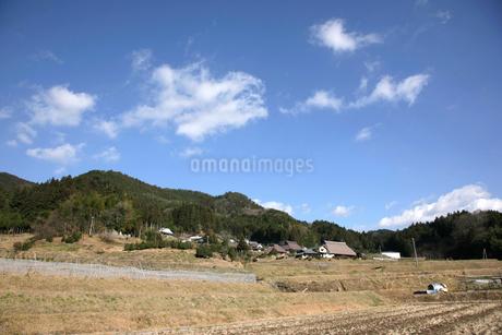 秋の山里の写真素材 [FYI01824600]
