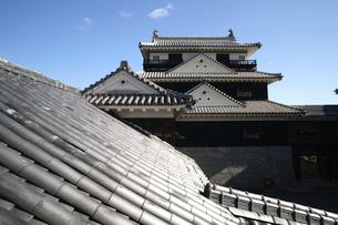 松山城の写真素材 [FYI01824672]