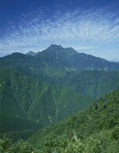 初夏の石鎚山 愛媛県の写真素材 [FYI01824880]