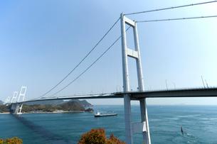 来島海峡大橋の写真素材 [FYI01825243]