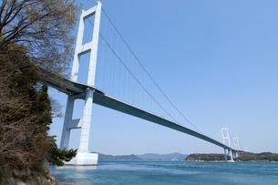来島海峡大橋の写真素材 [FYI01825318]