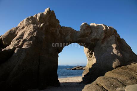 北条鹿島の石門の写真素材 [FYI01825379]