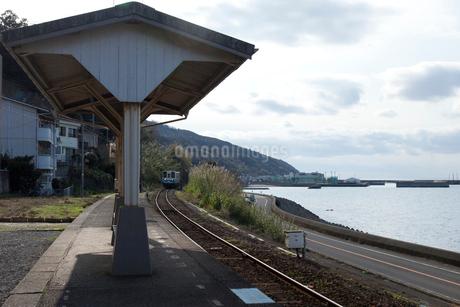 JR四国の下灘駅の写真素材 [FYI01825409]