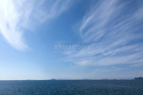 青い海と青い空の写真素材 [FYI01825590]