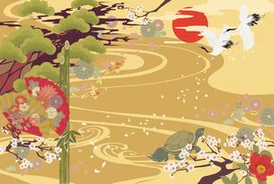和風の祝い事のイラスト素材 [FYI01825901]