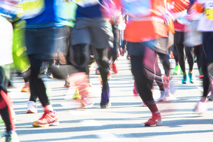 マラソンランナーの写真素材 [FYI01826686]