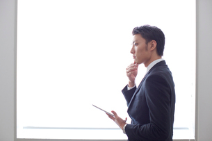 20代ビジネスマンの写真素材 [FYI01826874]