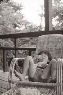 少年少女の写真素材 [FYI01828515]