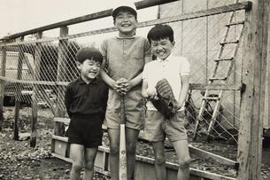 野球をする子供の写真素材 [FYI01828545]