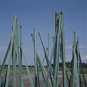 壊れた柵の写真素材 [FYI01828827]