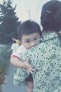赤ちゃん時代の写真素材 [FYI01828845]