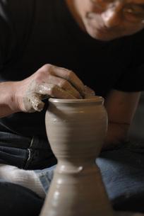 陶器作りの写真素材 [FYI01829664]