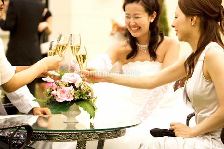 結婚パーティーの写真素材 [FYI01832637]