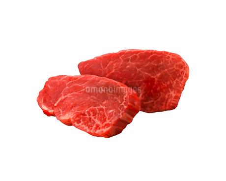 牛肉ヒレのイラスト素材 [FYI01836416]