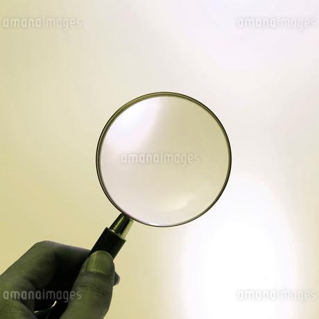拡大鏡の写真素材 [FYI01836589]