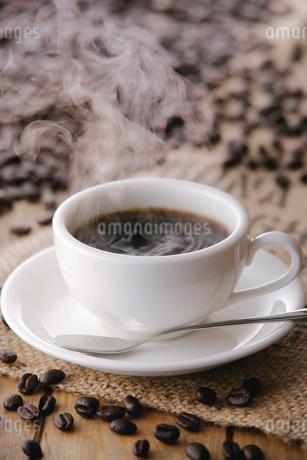 ホットコーヒーの写真素材 [FYI01839433]