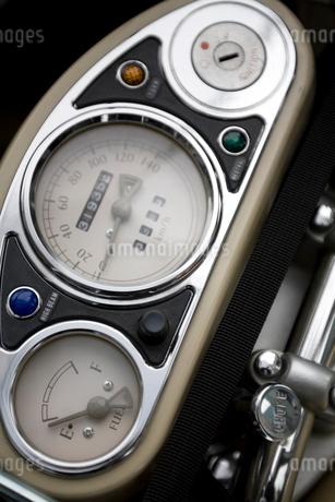 バイクのメーターの写真素材 [FYI01844656]
