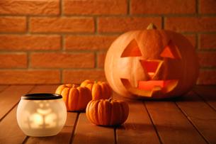 ハロウィーンのかぼちゃの写真素材 [FYI01845217]