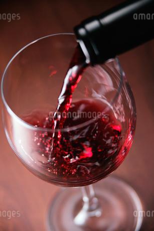赤ワインの写真素材 [FYI01845400]