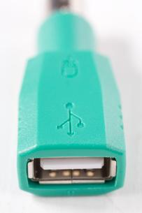 USBケーブルの写真素材 [FYI01845808]