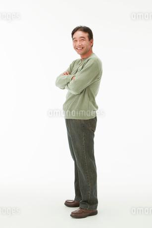 笑顔の40代男性の写真素材 [FYI01846063]