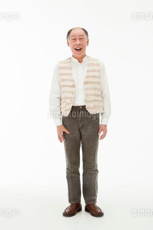 笑顔の60代男性の写真素材 [FYI01846119]