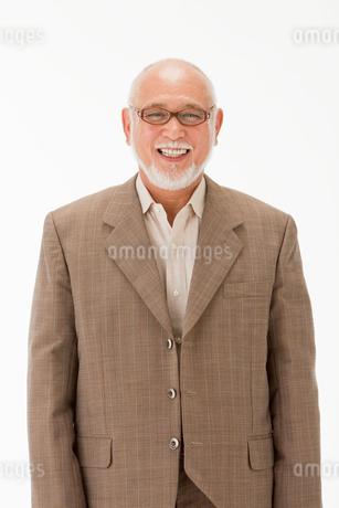 笑顔の60代男性の写真素材 [FYI01846813]