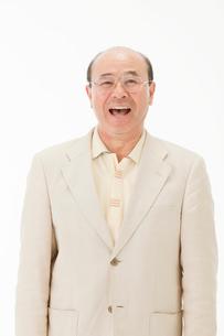 笑顔の60代男性の写真素材 [FYI01846814]