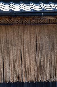 縄暖簾の写真素材 [FYI01847481]