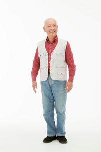 笑顔の60代男性の写真素材 [FYI01847512]
