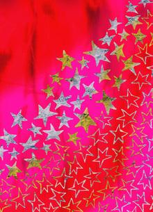 箔の星のイラスト素材 [FYI01849055]