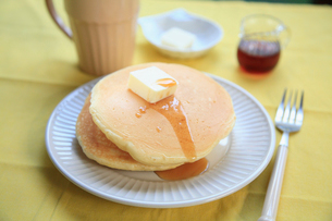 ホットケーキの写真素材 [FYI01849643]