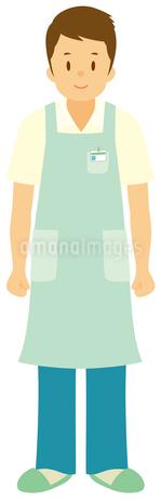 介護福祉士/男性のイラスト素材 [FYI01850706]