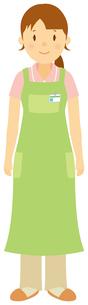 介護福祉士/女性のイラスト素材 [FYI01851410]