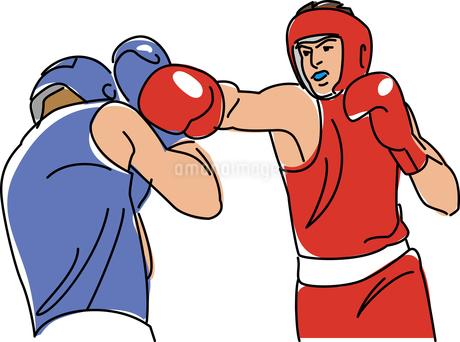 ボクシングのイラスト素材 [FYI01855358]
