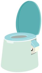 ポータブルトイレのイラスト素材 [FYI01856057]