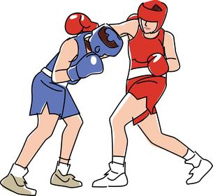 ボクシングのイラスト素材 [FYI01856081]