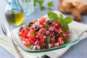 トマトサラダの写真素材 [FYI01856174]