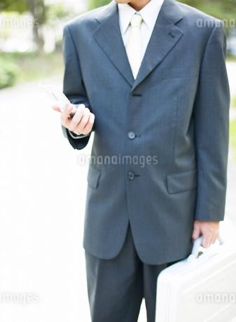 鞄を持つ男性の写真素材 [FYI01859316]