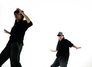 ダンスをする日本人女性の写真素材 [FYI01862127]