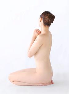 ヌードの女性の写真素材 [FYI01862960]