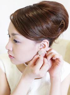 ウェディングの日本人女性の写真素材 [FYI01863501]