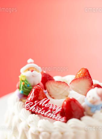 クリスマスケーキの写真素材 [FYI01867331]