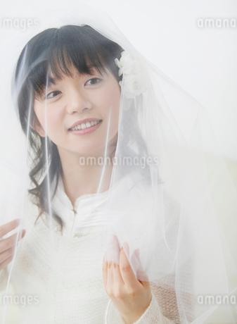 ベールをかぶる女性の写真素材 [FYI01868125]